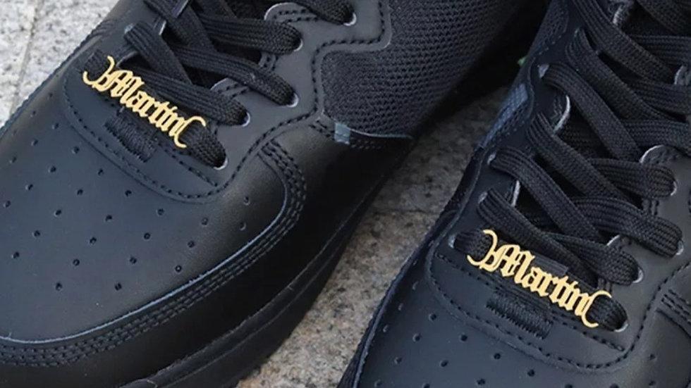 Sneaker Nameplates