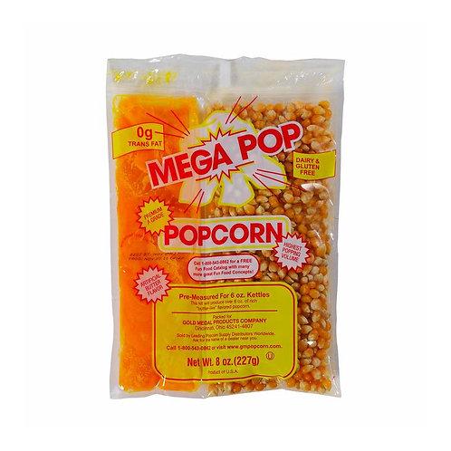 Mega Pop® 6 oz. Kettle Kit