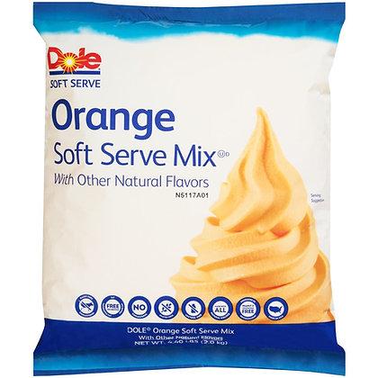 Dole Orange Soft Serve Mix