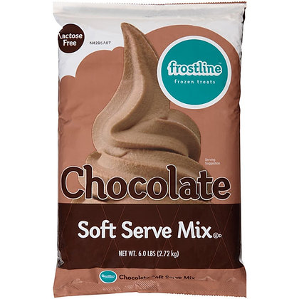Frostline Chocolate Soft Serve Mix (Case of 6)
