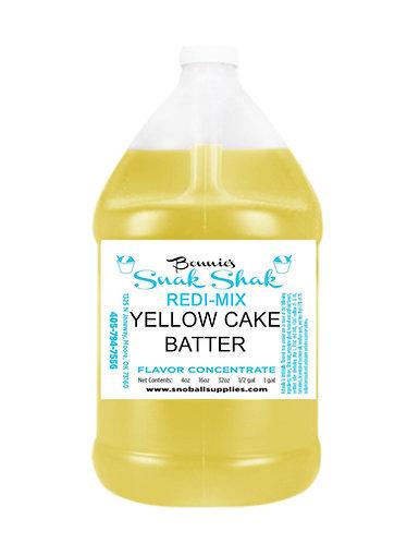 Yellow Cake Batter