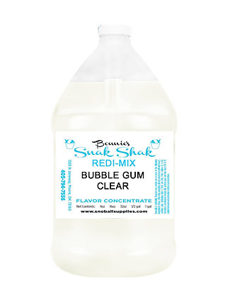 Bubble Gum Clear