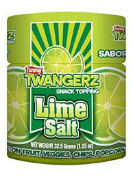Twang Twangerz Flavored Salt Snack Topping - Lime, (1 )