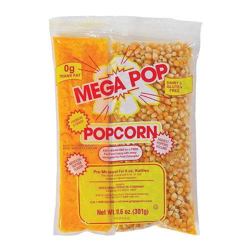 Mega Pop® 8 oz. Kettle Kit