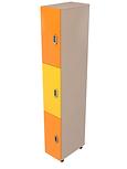 шкаф трехячеистый