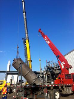 Pressure Vessel Installation- Praxair