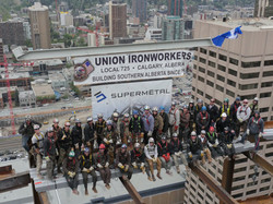 707 Fifth Topping off picture-2