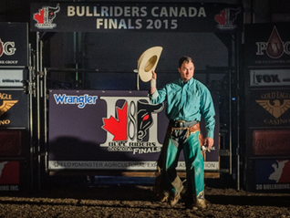 County Bull Rider First to Win Two National Championships