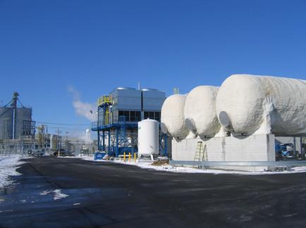 Installation d'une tour de refroidissement - Praxair