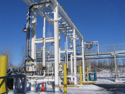 Zone de chargement de CO2 - Praxair