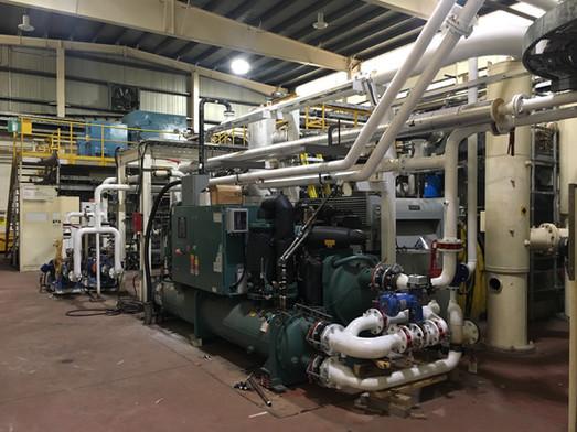 Refroidisseur et pompe au glycol - Fourniture et installation