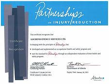 Lochend Energy Services Ltd.- AB Cert.jp