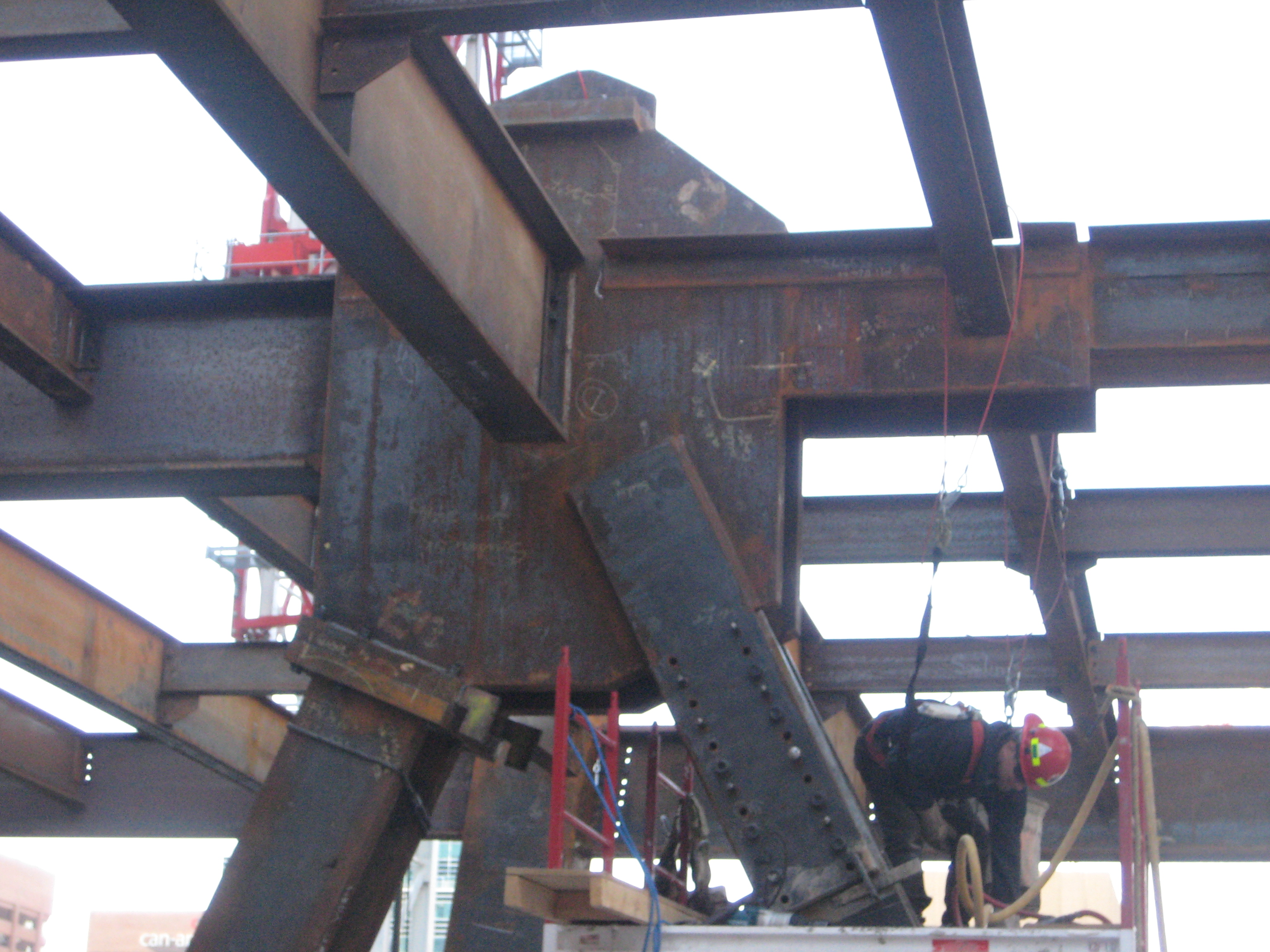 Transfer Truss Gussett