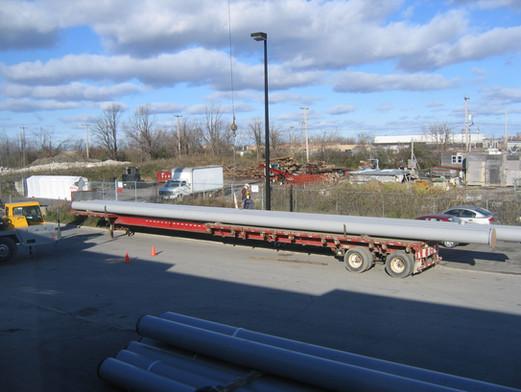 90 ft pipe fabrication - Suncor