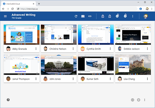 InterCLASS Cloud for Chromebooks