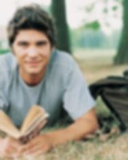étudiant lecture