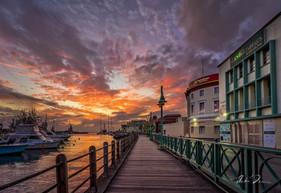 Sunset On The Boardwalk