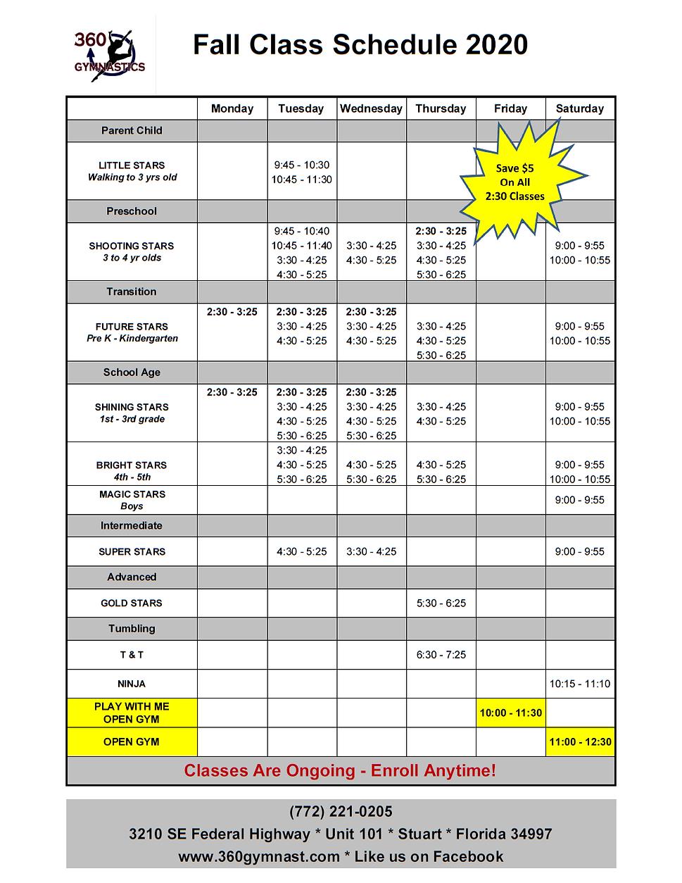 2020 Fall Class Schedule.png