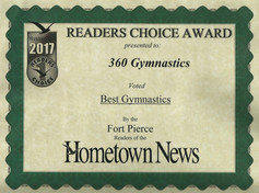2017 Hometown News Best Gymnastics - Fort Pierce