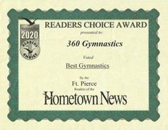 2020 Hometown News Best Gymnastics - For
