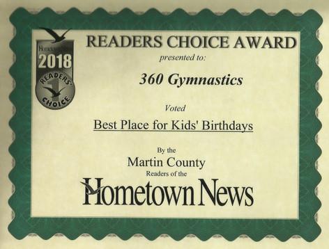 2018 Hometown News Best Birthdays - Martin County