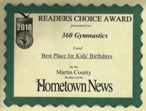 2018 Hometown News Best Birthdays - Martin County