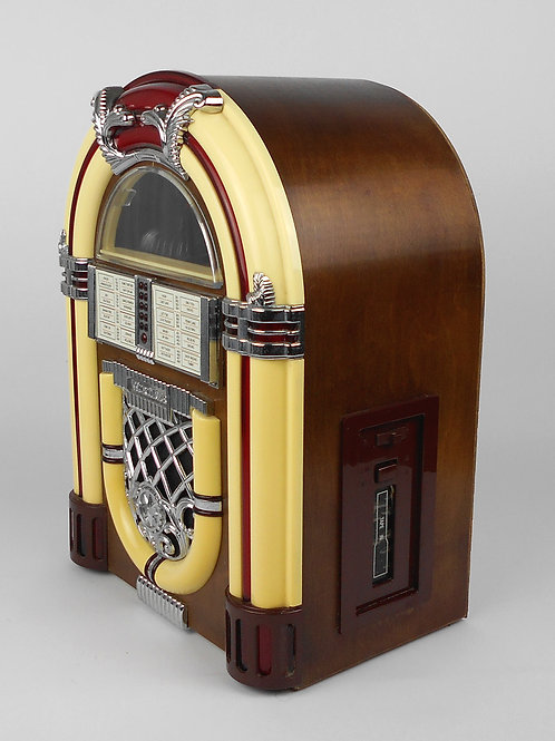 VINTAGE O RADIO-CASSETTE-JUKEBOX