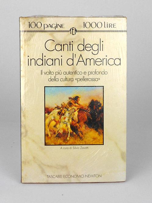 "BOOKS Tascabili Newton N°29 ""Canti degli indiani d'America"""