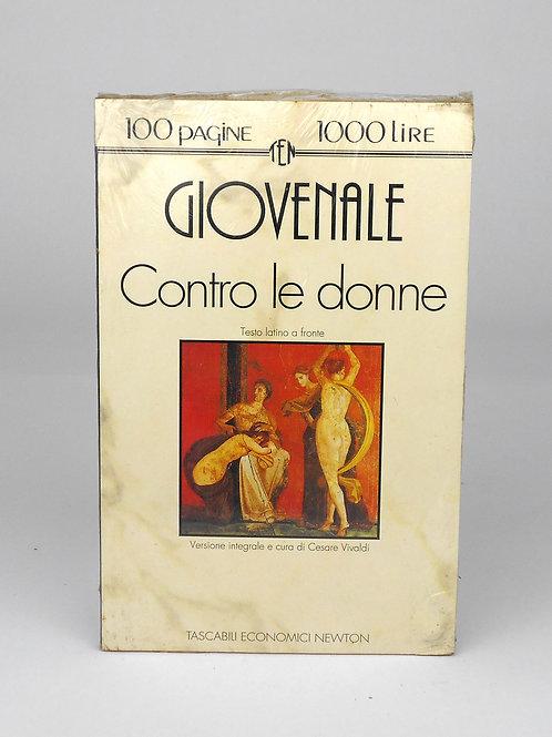 """BOOKS Tascabili Newton n°61 """"GIOVENALE - Contro le donne"""""""