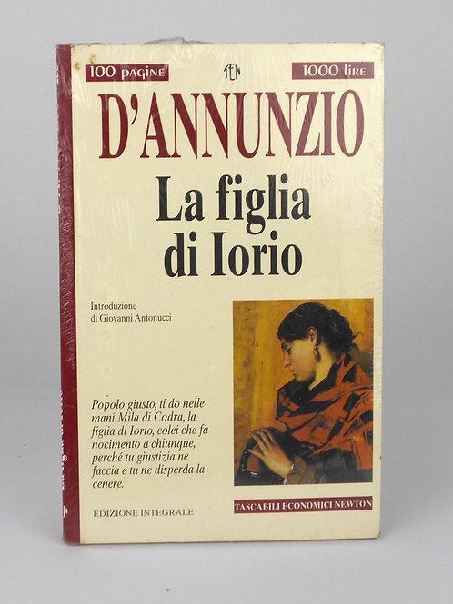 """BOOKS Tascabili Newton n°236 """"D'ANNUNZIO - La figlia di Iorio"""""""