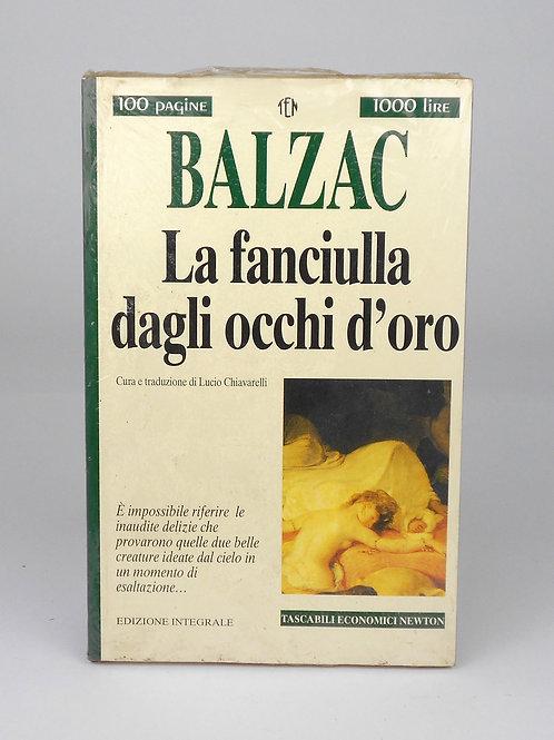 """BOOKS Tascabili Newton n°217 """"BALZAC - La fanciulla dagli occhi d'oro"""""""