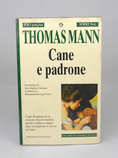 """BOOKS Tascabili Newton n°203 """"MANN - Cane e padrone"""""""