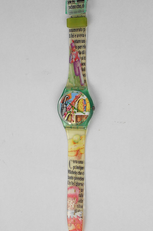 VCW SWATCH LE CHAT BOTTE 'watch GG123-1993