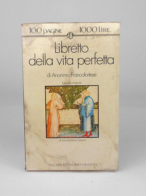 """BOOKS Tascabili Newton n°148 """"Libretto della vita perfetta"""""""