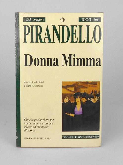 "BOOKS Tascabili Newton n°235 ""PIRANDELLO - Donna Mimma"""