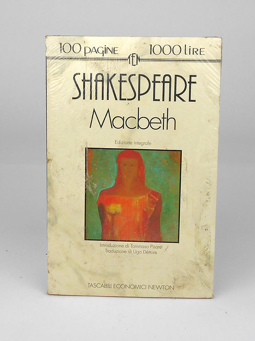 "BOOKS Tascabili Newton n°200 ""SHAKESPEARE - Macbeth"""