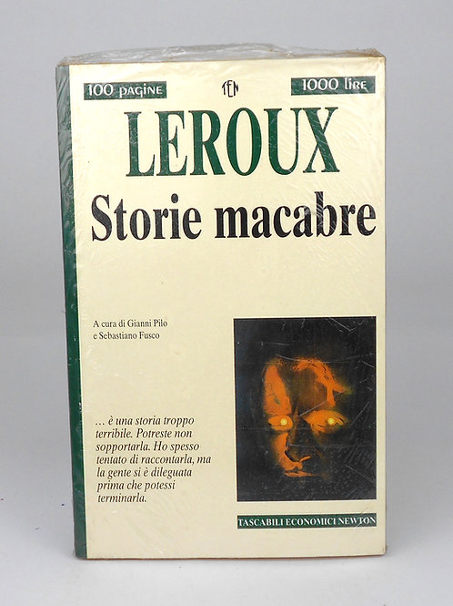 "BOOKS Tascabili Newton n°222 ""LEROUX - Storie macabre"""