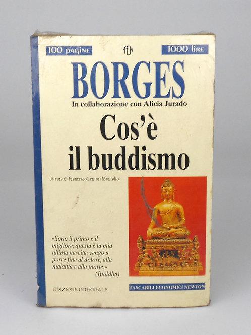 """BOOKS Tascabili Newton n°207 """"BORGES - Cos'è il buddismo"""""""