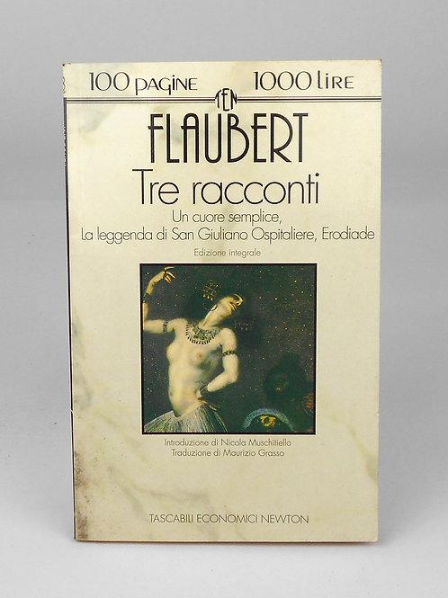 "BOOKS Tascabili Newton n°198 ""FLAUBERT - Tre racconti"""