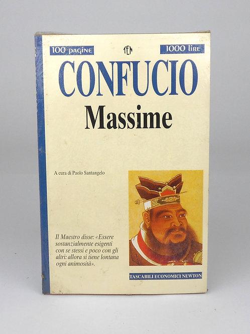 """BOOKS Tascabili Newton n°206 """"CONFUCIO - Massime"""""""