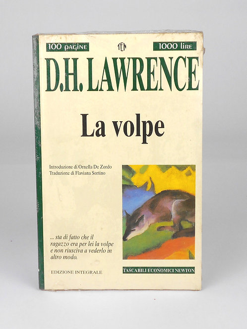 "BOOKS Tascabili Newton n°230 ""D.H. LAWRENCE - La volpe"""