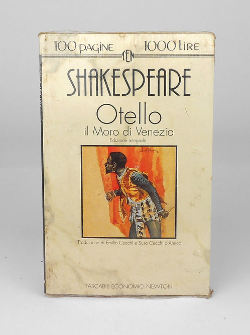 "BOOKS Tascabili Newton n°8 ""SHAKESPEARE - Otello"""