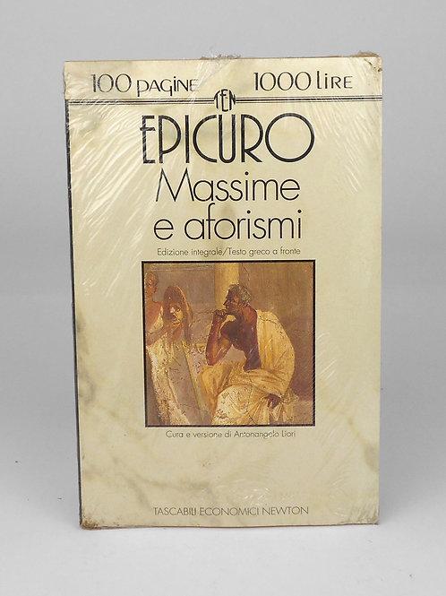 "BOOKS Tascabili Newton n°110 ""EPICURO - Massime e Aforismi"""