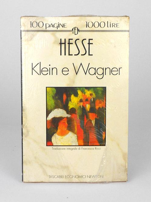 """BOOKS Tascabili Newton N°46 """"HESSE - Klein e Wagner"""""""
