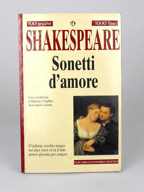 """BOOKS Tascabili Newton n°237 """"SHAKESPEARE -Sonetti d'amore"""""""