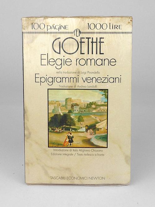 """BOOKS Tascabili Newton n°109 """"GOETHE - Elegie Romane"""""""