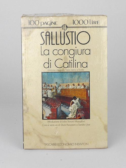 """BOOKS Tascabili Newton n°188 """"SALUSTIO - La congiura di Catilina"""""""