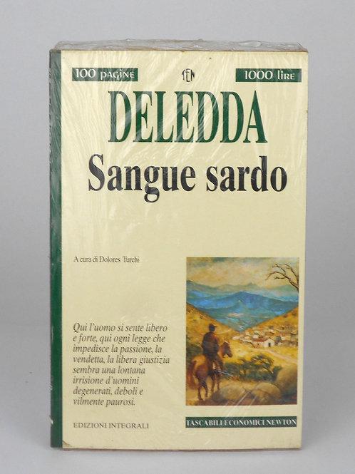 "BOOKS Tascabili Newton n°242 ""DELEDDA - Sangue sardo"""