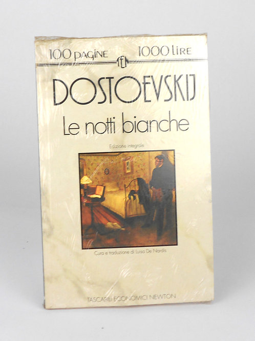 "BOOKS Tascabili Newton N°166 ""DOSTOEVSKIJ - Le notti bianche"""