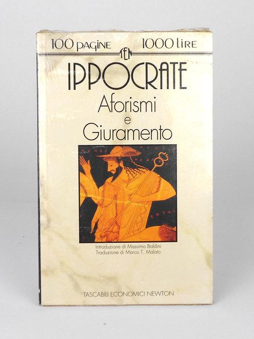 """BOOKS Tascabili Newton N°127 """"IPPOCRATE - Aforismi e Giuramento"""""""